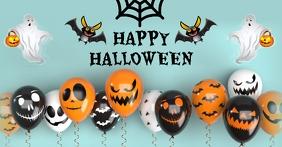 Halloween party,Halloween sale Immagine condivisa di Facebook template