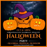 HALLOWEEN PARTY BANNER Pos Instagram template