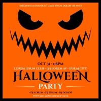 HALLOWEEN PARTY BANNER Instagram-bericht template