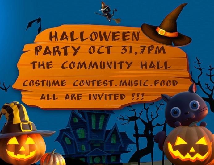 Halloween party design Folder (US Letter) template