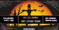 Halloween Party Copertina evento Facebook template