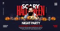 Halloween Party Ibinahaging Larawan sa Facebook template