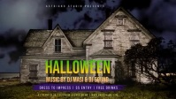 Halloween Party Event Cover Video template