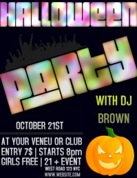 HALLOWEEN PARTY EVENT DIGITAL