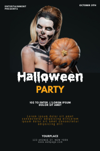 Halloween party Event Flyer