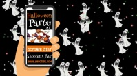 Halloween Party Event Video Ad Template Digital Display (16:9)