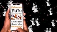 Halloween Party Event Video Template Digital Display (16:9)