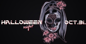 Halloween Party Facebook Ad Facebook-Anzeige template