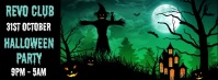 Halloween Party Facebook Cover Video Template