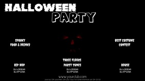 Halloween Party facebook Video