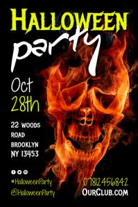 Halloween Party Flyer