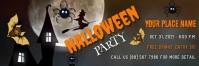 Halloween Party Flyer Encabezado de Twitter template