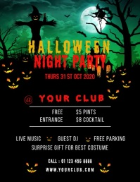 Halloween Party Flyer Video Template