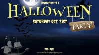 HALLOWEEN PARTY IN. JUST MUSIC NO STORM SOUND Digitale Vertoning (16:9) template