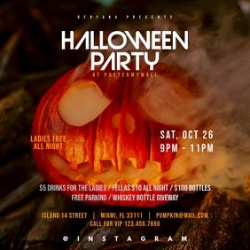 Halloween Party Instagram Original Banner