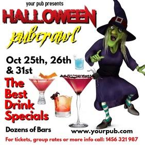 Halloween Party instagram Post