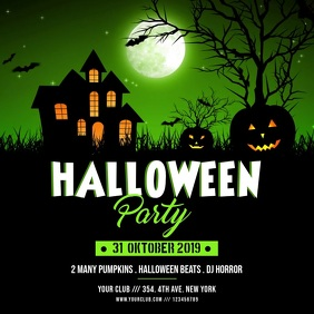 Halloween Party Instagram Video Template