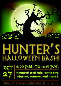 Kid's Halloween Party Invite