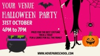 Halloween Party Night Event Video Template Digital Display (16:9)