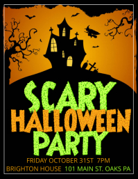 16 580 customizable design templates for halloween party postermywall
