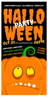 HALLOWEEN PARTY ROLL-UP BANNER template