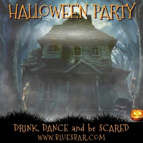 Halloween Party Video Template