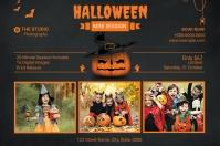 Halloween Photography Mini Session 标签 template