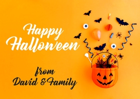 Halloween post cards