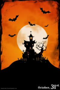 halloween flyer templates postermywall rh postermywall com halloween party posters to print out halloween party poster ideas