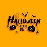 halloween poster Logotipo template