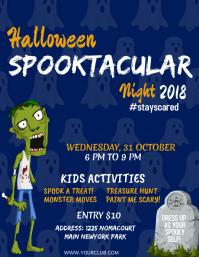 halloween poster template