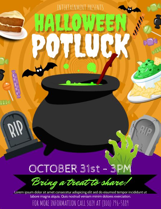 Halloween Potluck