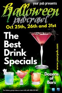 Halloween Pub Crawl Poster