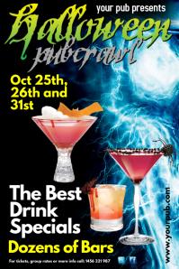 Halloween Pubcrawl Poster