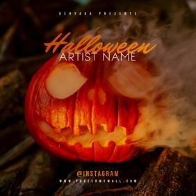 Halloween Pumkin CD Cover Art