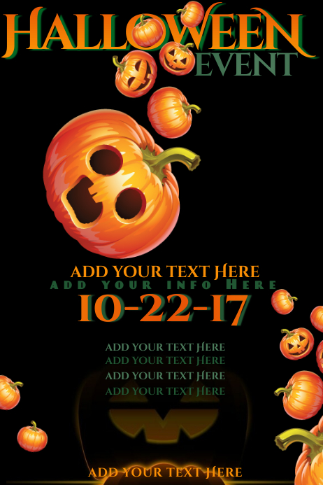 Halloween Pumpkin Jack Lantern Patch Roll Kid Activity Carve