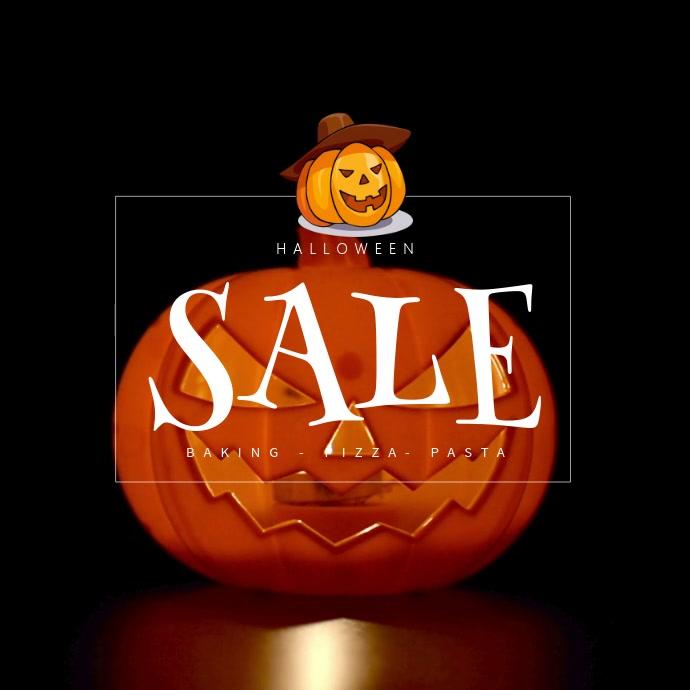 Halloween Pumpkin Sale Video Template