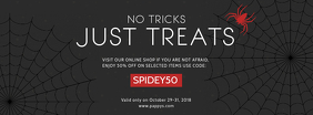 Halloween Retail Advertisement Facebook Banner