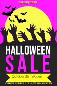 Halloween Retail Poster