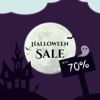 Halloween sale 1 Instagram na Post template
