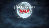 Halloween Sale Advert Video Special Offer Ad template