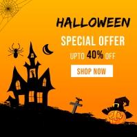 Halloween Sale Banner Template Pos Instagram