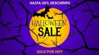 Halloween sale 数字显示屏 (16:9) template