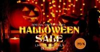 Halloween Sale Imagem partilhada do Facebook template