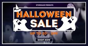 Halloween Sale Facebook Shared Image template