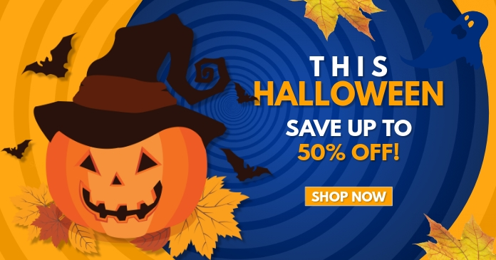 halloween sale template