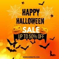 Halloween SALE Instagram 帖子 template