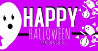 Halloween Sale Discount Video Ad Facebook Shared Image template