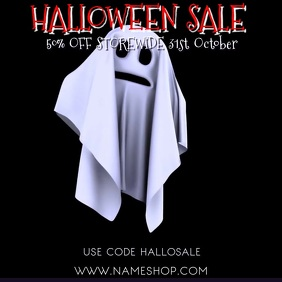 Halloween Sale Event Video Template