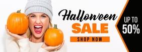 Halloween Sale Facebook Cover Facebook-coverfoto template